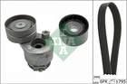 Poly V-riemen kit Ina 529012410
