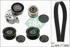 Poly V-riemen kit Ina 529013910