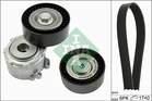 Poly V-riemen kit Ina 529015810