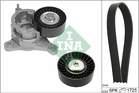 Poly V-riemen kit Ina 529018310