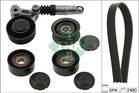 Poly V-riemen kit Ina 529020910