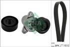 Poly V-riemen kit Ina 529021510