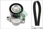 Poly V-riemen kit Ina 529023510
