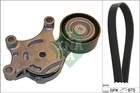 Poly V-riemen kit Ina 529026110