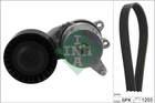 Poly V-riemen kit Ina 529026210