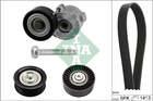 Poly V-riemen kit Ina 529030410