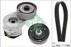 Poly V-riemen kit Ina 529034510