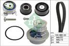 Ina Distributieriem kit incl.waterpomp 530 0078 30
