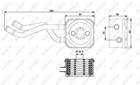Oliekoeler motorolie Nrf 31175