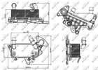 Nrf Oliekoeler motorolie 31264