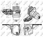 Nrf Oliekoeler motorolie 31309