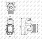 Oliekoeler motorolie Nrf 31355