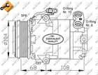 Airco compressor Nrf 32080