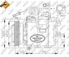 Airco compressor Nrf 32104