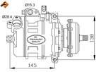 Airco compressor Nrf 32148