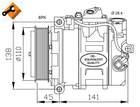 Airco compressor Nrf 32214