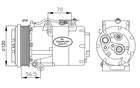 Airco compressor Nrf 32250