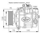 Airco compressor Nrf 32613