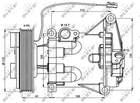 Airco compressor Nrf 32687