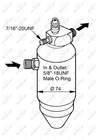 Airco droger/filter Nrf 33077