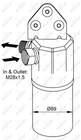 Airco droger/filter Nrf 33131
