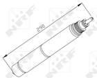 Airco droger/filter Nrf 33197