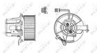 Kachelventilator/Ventilatormotor Nrf 34162