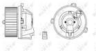 Kachelventilator/Ventilatormotor Nrf 34168