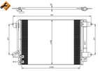 Airco condensor Nrf 350028