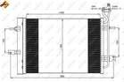 Airco condensor Nrf 350034