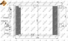 Airco condensor Nrf 35301