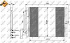 Airco condensor Nrf 35307