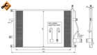 Airco condensor Nrf 35413
