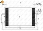 Airco condensor Nrf 35551