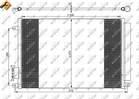 Airco condensor Nrf 35753