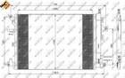 Nrf Airco condensor 35889