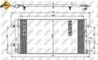 Airco condensor Nrf 35916
