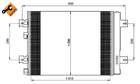 Airco condensor Nrf 35947