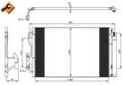 Airco condensor Nrf 35970