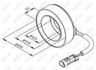 Spoel magneetkoppeling Airco compressor Nrf 38475