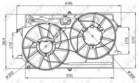 Nrf Ventilatormotor-/wiel motorkoeling 47035
