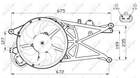 Nrf Ventilatormotor-/wiel motorkoeling 47489