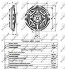 Ventilatorkoppeling Nrf 49532