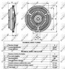 Ventilatorkoppeling Nrf 49540