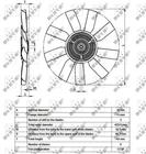 Ventilatorkoppeling Nrf 49543