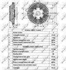 Ventilatorkoppeling Nrf 49558