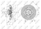Ventilatorkoppeling Nrf 49566