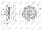 Ventilatorkoppeling Nrf 49567