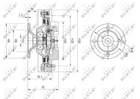 Ventilatorkoppeling Nrf 49572