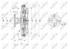 Ventilatorkoppeling Nrf 49580